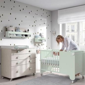 Habitación Bebé Ros 01 Soft Wood