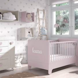 Habitación Bebé Ros 02 Soft Wood