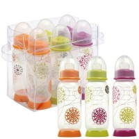 Set 6 biberones 260ml gipsy (tema trendy