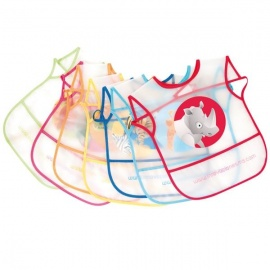 Babero Plastico Pack 7 Unidades Innovaciones MS