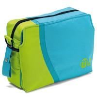 Bolso azul con verde innovaciones ms