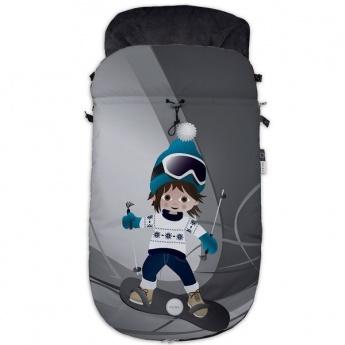 Saco Silla Fuli Universal 1 Snow Aspen