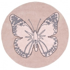 Alfombra Lorena Canals Algodón Butterfly Vintage 160 cms