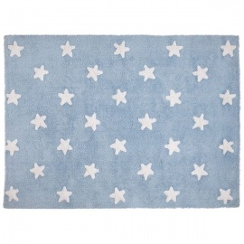 Alfombra Lorena Canals Algodón Stars White 120 x 160
