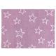 Alfombra Lorena Canals Algodón Estrellas Purple 120X160