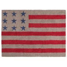 Alfombra Lorena Canals Algodón Flag American 120 x 160