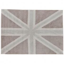 Alfombra Lorena Canals Algodón Flag England Linen - Grey 140X200