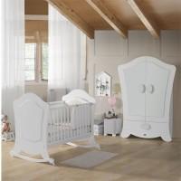 Habitación de Bebé Micuna Ambiente alexa blanco