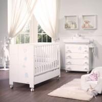 Habitación de Bebé Micuna Ambiente juliette luxe azul