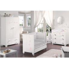 Habitación de Bebé Micuna Ambiente Juliette Luxe rosa