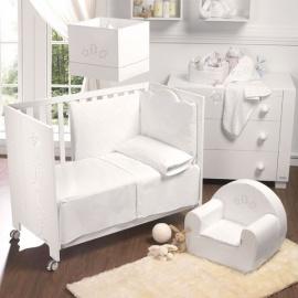 Habitación de Bebé Micuna Ambiente juliette edredon