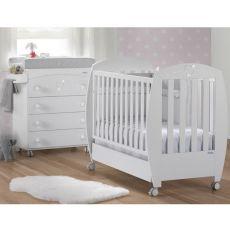 Habitación de Bebé Micuna Ambiente Valeria luxe blanco