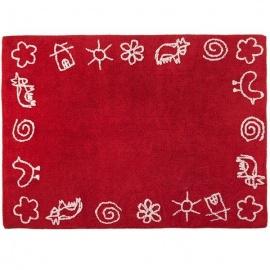 Alfombra Lorena Canals Algodón Granja Red 120X160