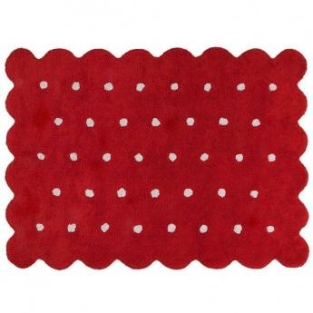 Alfombra Lorena Canals Algodón Galleta Red 120X161