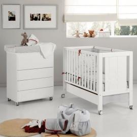 Habitación de Bebé Micuna Ambiente neus blanco