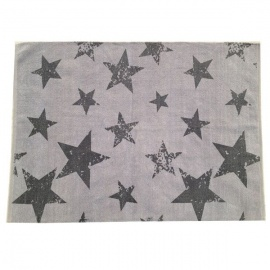 Alfombra Lorena Canals PACK Vintage Star Grey Elephant (Rug + Cushion) 120X160