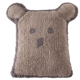 Cojín Lorena Canals Lavable Cushion Bear Linen 50 x 35