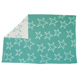 Manta Lorena Canals Lana Wool Blanket Stars 180 x 120