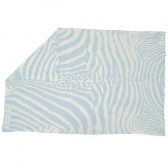 Manta Lorena Canals Lana Wool Blanket Zebra 180 x 120