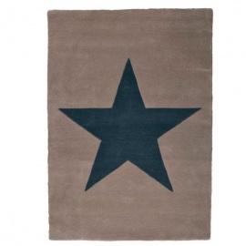 Alfombra Lorena Canals Lana Wool Star Linen 140 x 200