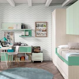 Habitación Juvenil Bicama Duo 3