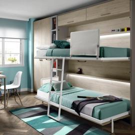 Habitación Juvenil Abatible 112