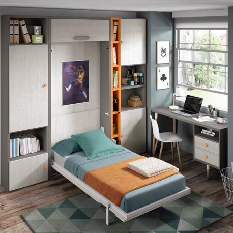 Habitación Juvenil Abatible 115