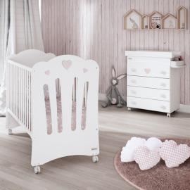 Trama Corazones Habitación Bebé