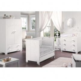 Habitación de Bebé Micuna Ambiente juliette luxe blanco