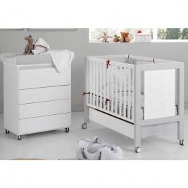Habitación de Bebé Micuna Ambiente neus blanco gris