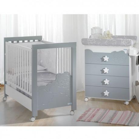 Habitación de Bebé Micuna Ambiente dolce luce gris